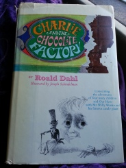 books, charlie and the chocolate factory, roald dahl